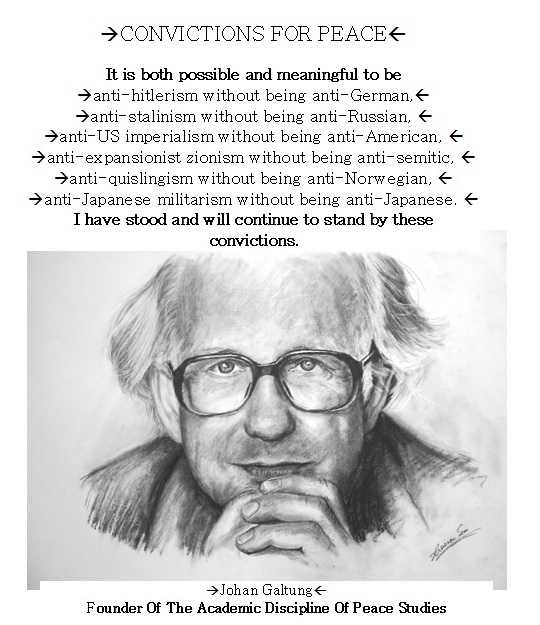 johan galtungs concept of cultural violence Cultural violence johan galtung journal of peace research, vol 27 this article introduces a concept of 'cultural violence' and can he wen as a follu~-upof the.