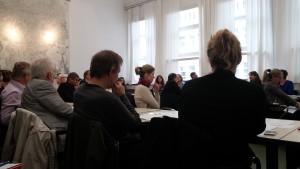 Workshop mit Galtung Summerschool mit Galtung