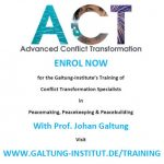 Group logo of ACT Training with Prof. Galtung